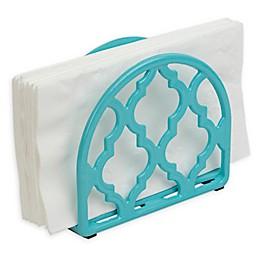 Home BasicsCast Iron Napkin Holder in White