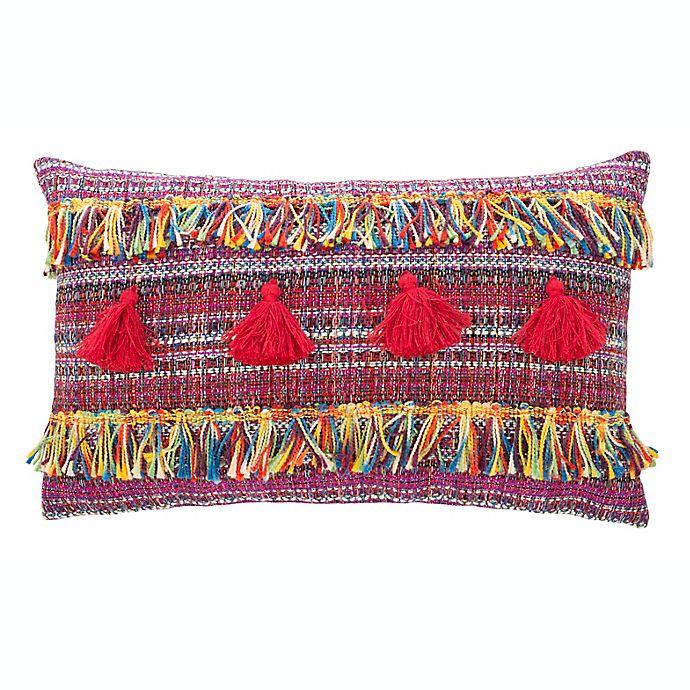 Alternate image 1 for Safavieh Nabbi Oblong Throw Pillow