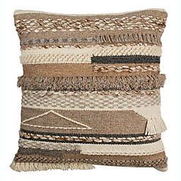 Safavieh Demna Square Throw Pillow in Beige