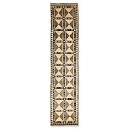 Bokara Rug Company® Himalayan 2'9 x 12'2 Hand-Knotted Runner in Beige