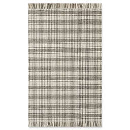 Bee & Willow™ Home Camden Plaid 3' x 5' Area Rug in Grey/Ivory