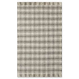 Bee & Willow™ Home Camden Plaid 5' x 8' Area Rug in Grey/Ivory