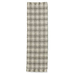 Bee & Willow™ Home Camden Plaid 2'3 x 7' Runner in Grey/Ivory