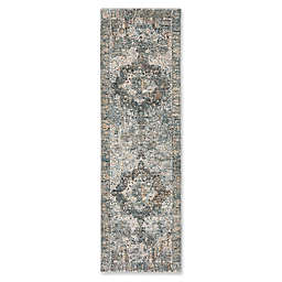 Bee & Willow™  Home Laurel Medallion Runner in Beige/Grey