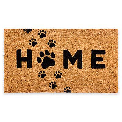 """Evergreen™ Paw Home 16"""" x 28"""" Coir Door Mat Insert"""