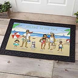 Summer Fun Characters Doormat