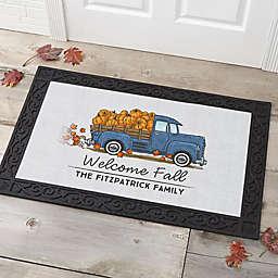 Classic Fall Vintage Truck Doormat