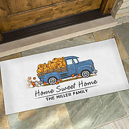 Classic Fall Vintage Truck 24-Inch x 48-Inch Doormat