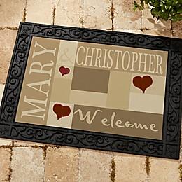 Loving Hearts Doormat
