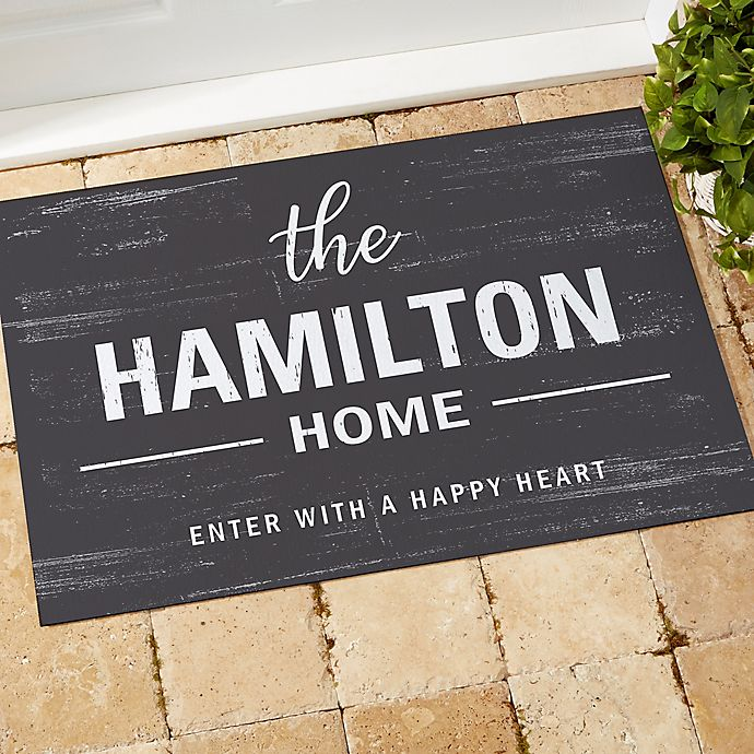 Alternate image 1 for Farmhouse Family Welcome Doormat