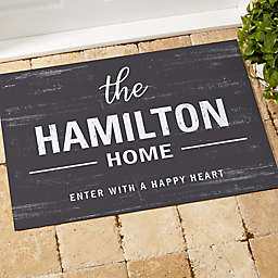 Farmhouse Family Welcome Doormat