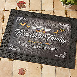 Haunted Halloween Doormat