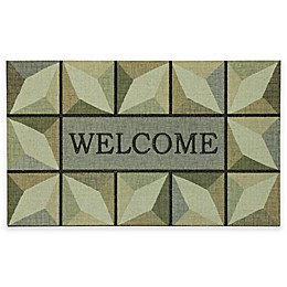"Mohawk Home® Prism Tiles 18"" x 30"" Multicolor Door Mat"