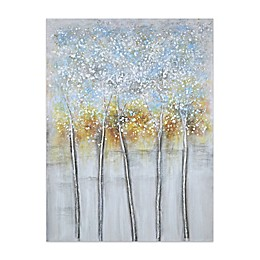Blue Abstract 36-Inch x 48-Inch Canvas Wall Art