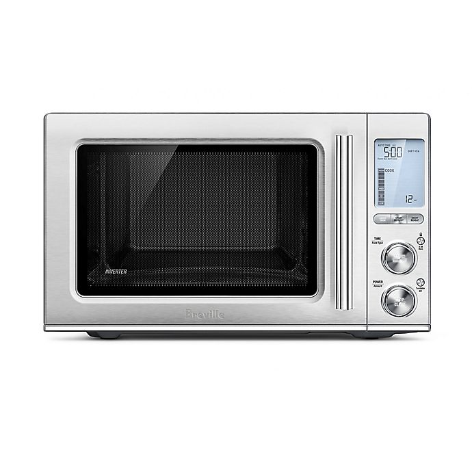 Alternate image 1 for Breville® the Smooth Wave™ Microwave Oven in Stainless Steel