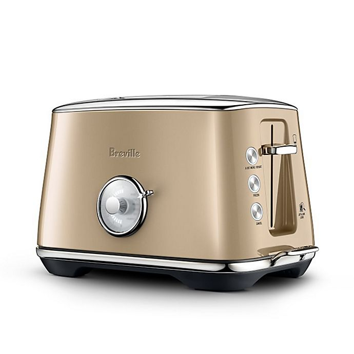 Alternate image 1 for Breville® the Toast Select Luxe™ 2-Slice Toaster in Champagne