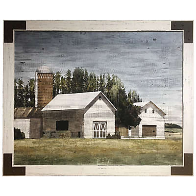 Bee & Willow™ Home Farmhouse Barn 27-Inch x 39-Inch Canvas Wall Art