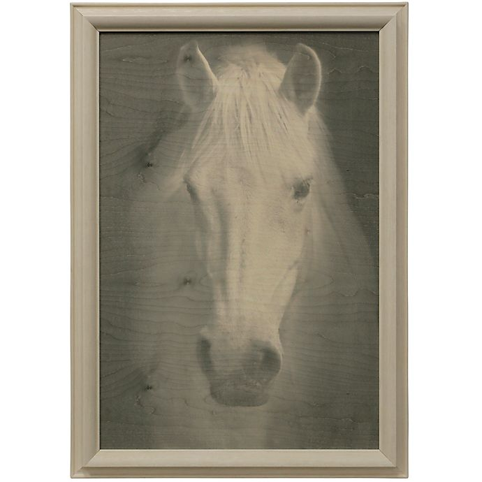 Alternate image 1 for Bee & Willow™ Home Farmhouse Horse 27-Inch x 39-Inch Wood Wall Art