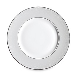 Monique Lhuillier Waterford® Pointe d'esprit Bows Accent Plate