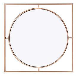 Southern Enterprises© Raken 32-Inch Round Decorative Mirror in Champagne