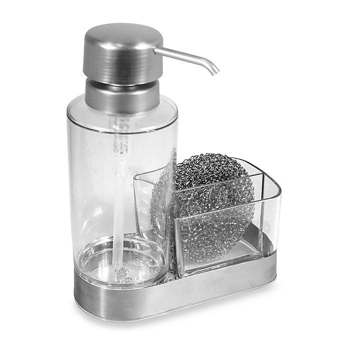 Alternate image 1 for InterDesign® Forma Ultra Dish Soap Pump Caddy