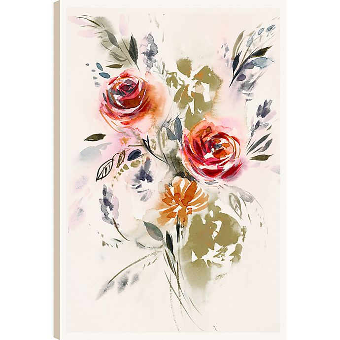 Alternate image 1 for The Flowers XVI 36-Inch x 24-Inch Canvas Wall Art