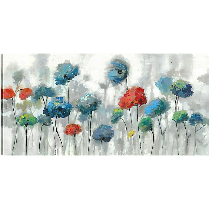 Alternate image 1 for The Flowers 30-Inch x 60-Inch Canvas Wall Art