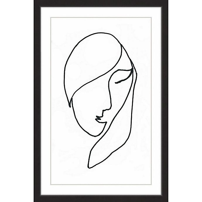 Alternate image 1 for Marmont Hill Sleeping Momma 24-Inch x 36-Inch Framed Wall Art