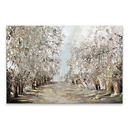 Spring Blossoms Hand Embellished 36-Inch x 24-Inch Canvas Wall Art