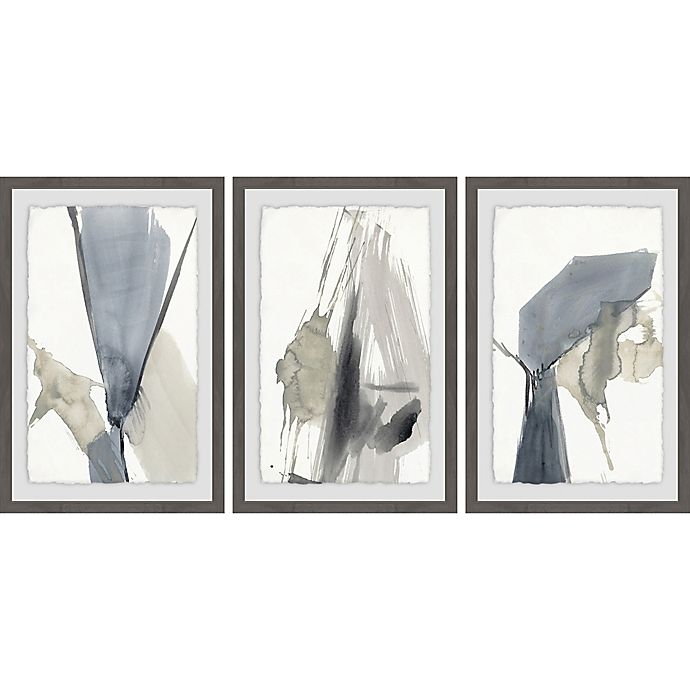 Alternate image 1 for Marmont Hill 3-Piece Kinetic Grid IX 72-Inch x 36-Inch Framed Wall Art Set