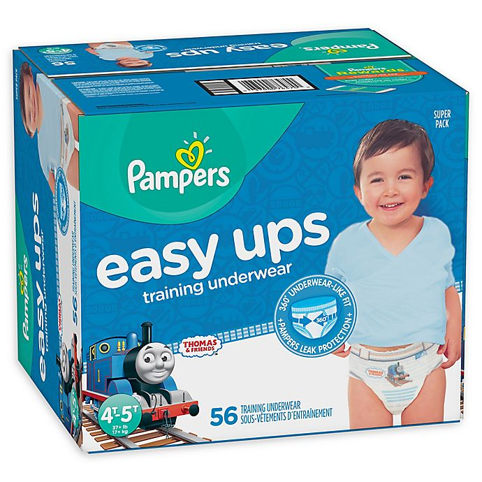 Alternate image 1 for Pampers® Easy Ups Size 4-5T 56-Count Boy's Training Underwear