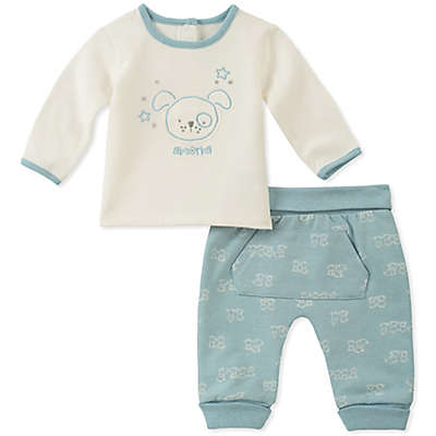 Absorba® 2-Piece Doggie Shirt and Pant Set in Blue