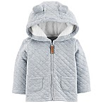 carter's® Size 3M Quilted Heather Jacket in Blue