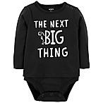 carter's® Newborn Double Decker Dinosaur Bodysuit in Black