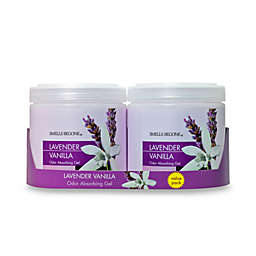 SMELLS BEGONE® Lavender Vanilla 15 oz. Odor Absorbing Gel Jars (Set of 2)