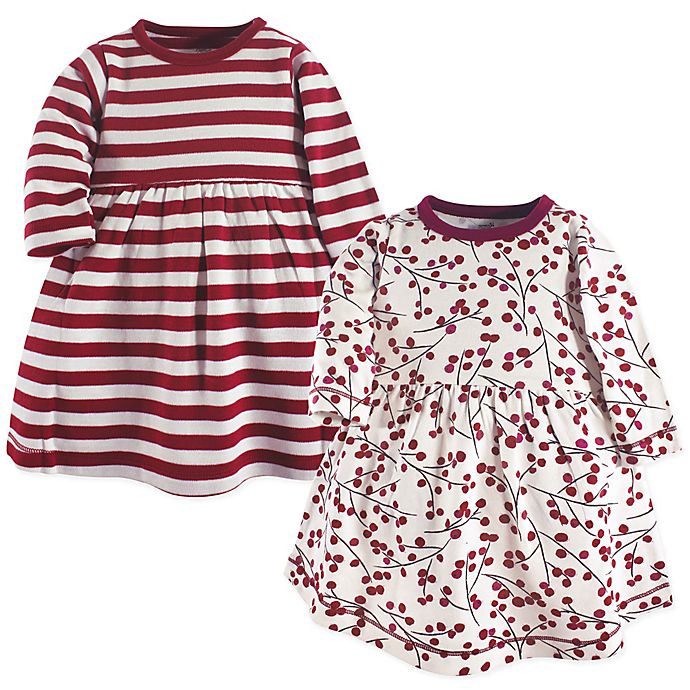 Alternate image 1 for Touched by Nature® 2-Pack Berry Branch Dresses in Red