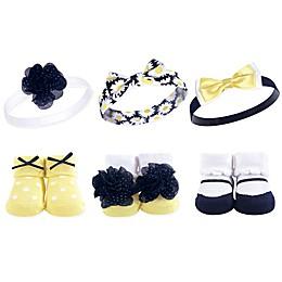 Hudson Baby® Socks & Headband Gift Set in Yellow