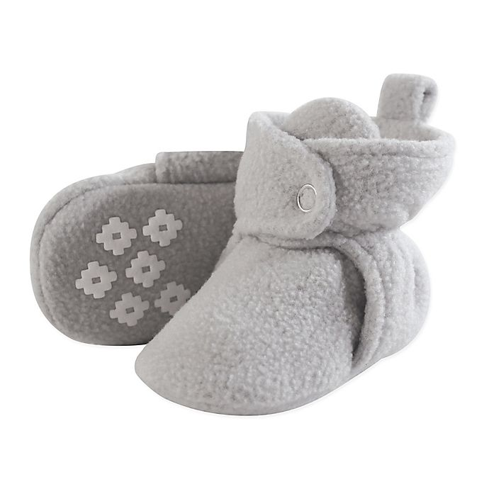 Alternate image 1 for Little Treasures Fleece-Lined Scotties in Light Grey