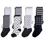 Hudson Baby® Size 0-6M 8-Pack Gentleman Knee High Socks