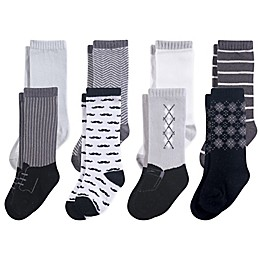 Hudson Baby® 8-Pack Gentleman Knee High Socks