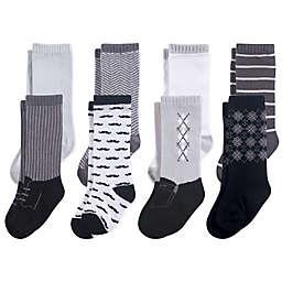44f58ad542f Hudson Baby reg  8-Pack Gentleman Knee High Socks