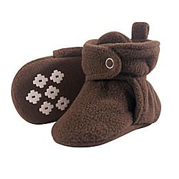 Little Treasure Scooties Fleece Booties in Brown