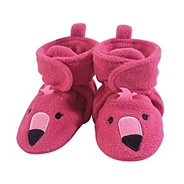 Hudson Baby® Flamingo Fleece Scooties in Pink