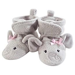 Hudson Baby® Elephant Fleece Scooties in Grey/Pink