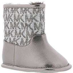Michael Kors® Logo Boot in Pewter/Silver