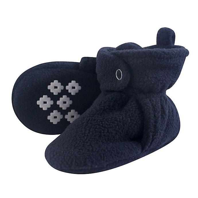 Alternate image 1 for Little Treasures Size 18-24M Fleece-Lined Scooties in Navy