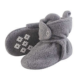 Little Treasures Size 12-18M Fleece-Lined Scooties in Grey