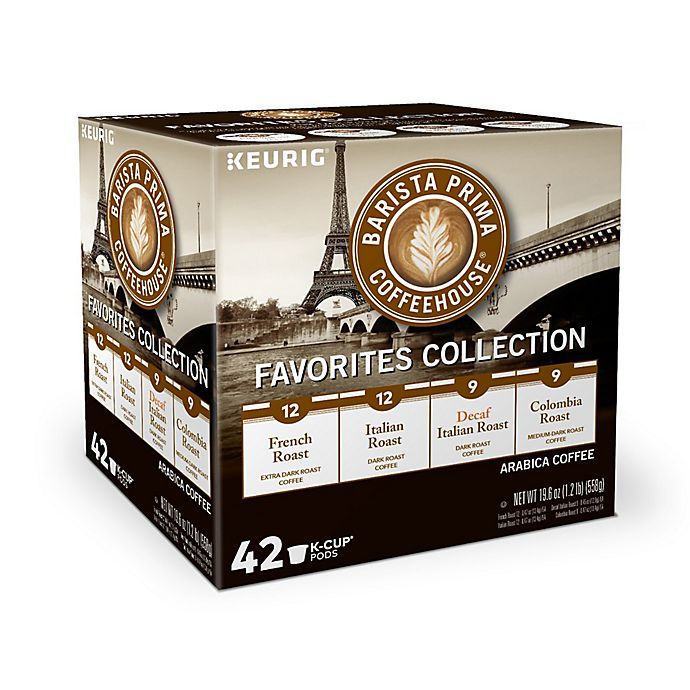 Alternate image 1 for Keurig® K-Cup® Pack 42-Count Barista Prima® Coffee Variety Pack