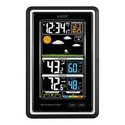 La Crosse Technology Wireless LCD Forecast Station in Black