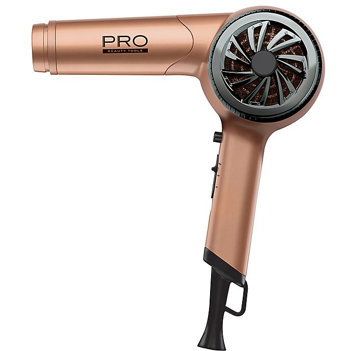 Alternate image 1 for Pro Beauty® 1100W Ionic Copper Ceramic Hair Dryer